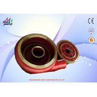 China Metal Volute Lined Slurry Pump Parts F6110 And Frame Plate Liner Insert F6041 wholesale