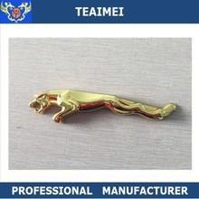 China Black Promotion Jaguar Logo Custom Car Emblems Body Sticker wholesale