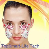 Electric pulse facial massager uses