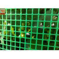 China Green Plastic Garden Fence Mesh , 1m Height Garden Wire Netting Fence wholesale