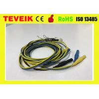 China Pure Sliver Ear Clip Electrodes EEG Cable DIN1.5 Socket Waterproof Connector wholesale