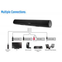 China Remote Control RCA Sound Bar With Bluetooth For 3.5mm Audio Output TVs wholesale