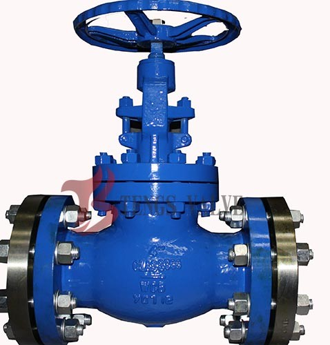 Quality Industrial OS&Y Globe Valve Rising Stem Hardfaced 300LB Flanged / BW for sale