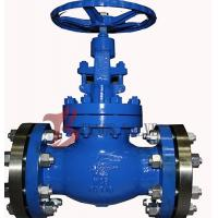 China Industrial OS&Y Globe Valve Rising Stem Hardfaced 300LB Flanged / BW wholesale