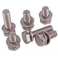 China A2-70 Stainless Steel Hex Bolt With Nut And Washer Size M4-M48 DIN933 wholesale