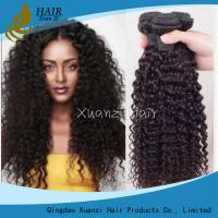 Brazilian Kinky Curly 100% Malaysian Virgin Hair Extensions 8 - 32Inches for sale