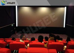 China High Class Sound Vibration Cinema With 2K Projector Silver Screen wholesale