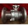 China Durable JIS 10K Flanged Ball Valve , Ss Ball Valve SCS13 / SCS14/pneumatic ball valve/AC 220V wholesale
