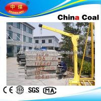 China HP1000 electric mini lifting crane for truck with CE certificate wholesale