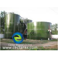 China Large Size Enamel GLS / GFS Steel Water Tanks Super Corrosion - Resistant on sale