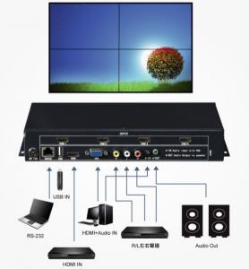 China HDMI 1080P Video Wall  Controller and VGA Video Wall Controller and support USB wholesale