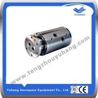 China 4 channel high pressure low speed hydraulic rotary joint,rotary union wholesale