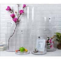 China Factory directly sale floor glass vase with super large diameter and height on hot sale. Support low MOQ! wholesale