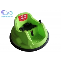 China Wholesale Colorful Plastic Battery Operated Electric Toddler Remote Control Bumper Kids Round Spining Bumper Car Ride wholesale