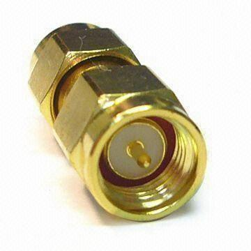connector/brass body gold plating, with wide frequency band