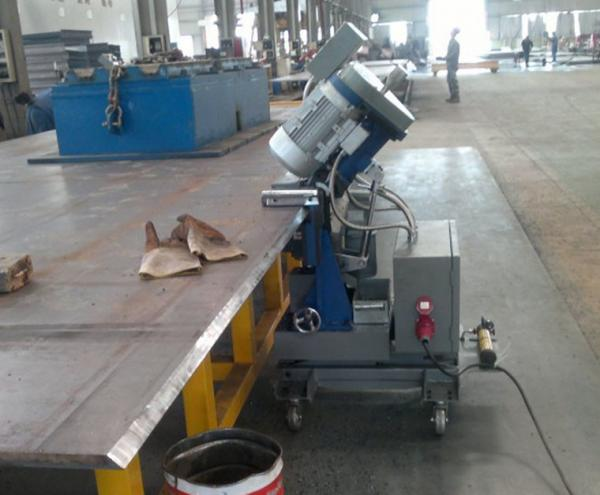 Steel Plate Beveling Machine Images