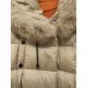 China F4066 Polyester fabric melange two tones for fashion jacket wholesale