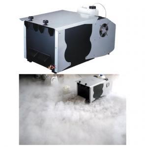 5.5L Oil Capacity Ground Fog Machine / 1200w Fog Machine DMX 512 And Remote Control
