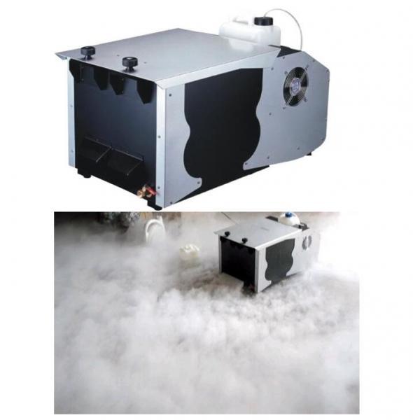Quality 5.5L Oil Capacity Ground Fog Machine / 1200w Fog Machine DMX 512 And Remote Control for sale