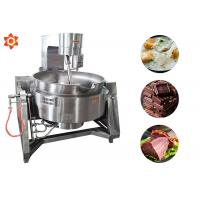 China Stable Food Cooking Machine Sugar Sauce Meat Cooking Equipment 100L Volume wholesale