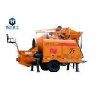 Buy cheap High Precision Small Concrete Pump, Portable Concrete Mixer 8 MPa Pumping from wholesalers