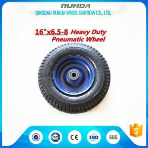 "China Various Colors Heavy Duty Cart Wheels 16"" One Piece Rim 4PR Smart Balance wholesale"