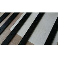 China low tolerance black color NYLON,PE plastic machined guide rail 5mm-10mm thick on sale