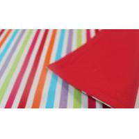China Nonwoven / Polyester Striped Dining Table Mats 180grams / 230gsm ISO9001 wholesale