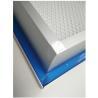 China Aluminum Frame Industrial HEPA Filter Top Side Gel Seal Leakproof For HEPA Box wholesale