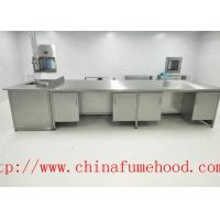 China Manufacture Science Lab Furniture Stainless Steel Lab Furniture for Clean Room and Hospital Lab on sale