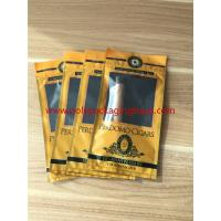 European And American Cigar Moisturizing Plastic Zipper Bags With Humidified for sale