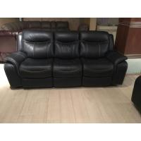 China GA01;  modern genuine leather sofa, recliner sofa, rock function, office furniture, living room furniture, China sofa wholesale