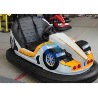 China Battery Operated Theme Park Bumper Cars 2 Persons Capacity For Adults wholesale