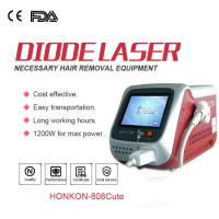 China Professional Painless 808nm Diode Laser Hair Removal Machine For Beauty Salon wholesale