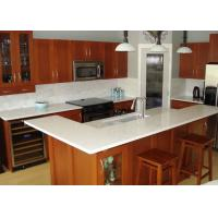 China Beige Cabinet Natural Granite Countertops Kitchen Tops Eased Edge wholesale