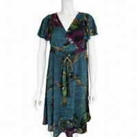 Buy cheap Polyester/Elastane Printed Women's Dress from wholesalers
