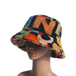 China 56cm Soft Fabric Fisherman Bucket Hat Sublimation Print Logo wholesale