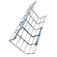 China Stainless steel industrial electrical straight wire basket cable tray systems, 200*100mm wholesale