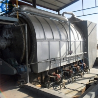 China 15 ton 20 ton Scrap Rubber Pyrolysis Production Line For Making fuel Oil wholesale