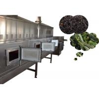 China High Efficiency Flower Dryer Machine Microwave Frequency With 60-600kg Capacity wholesale
