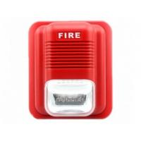 China 112DB Security House Alarm Siren 76 Times Per Minute Flash Rate Fire Alarm wholesale