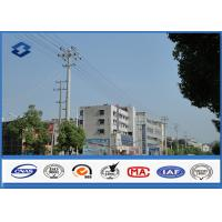 China A345 Q460 Steel Antenna Towers Electrical Power Pole 2.5 mm - 30 mm Thickness wholesale