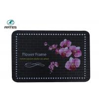 China Custom Color Oilproof Kitchen Floor Mats Anti Fatigue With Non Slip Backing wholesale
