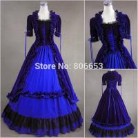 China Cosplay Civil War Dress Wholesale Party Victorian Gothic Dress Civil War Southern Belle Gown Party Cosplay Costume wholesale