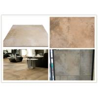 China Matte Surface Porcelain Floor Tiles 600x600 Yellow Accidental Colouring wholesale