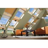 Buy cheap Aluminum frame with glass and blinds flat roof electric skylight window from wholesalers
