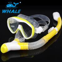 China Easy Breathing Snorkel Mask Set Silicone Mask Skirt With Safety Water Repellent wholesale