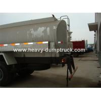 China SINOTRUK HOWO Fuel Tank Truck 4x2 13 CBM With Waboc Brake System And HW70 Cabin wholesale