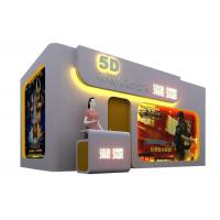 China Amusement Equipment Virtual Reality Game Hydraulic Motion 5D 7D XD Theater wholesale