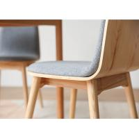 China High Back Wooden Dining Room Chairs Multicolor For Coffee / Dessert Shop wholesale